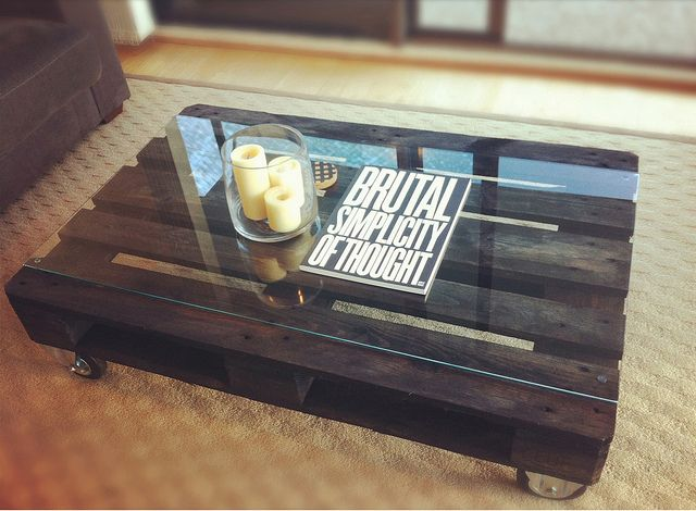 Make A New Coffee Table From Old Wooden Pallets Making One Soon