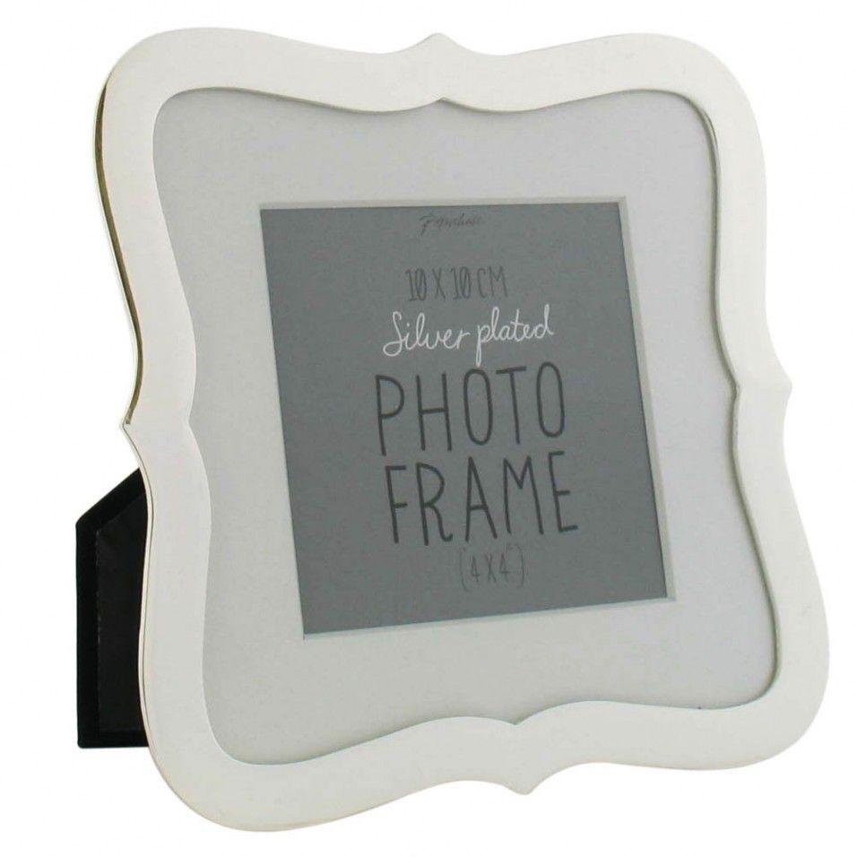 Modena 4x4 silver frame home decor pinterest silver silver modena 4x4 silver frame jeuxipadfo Images