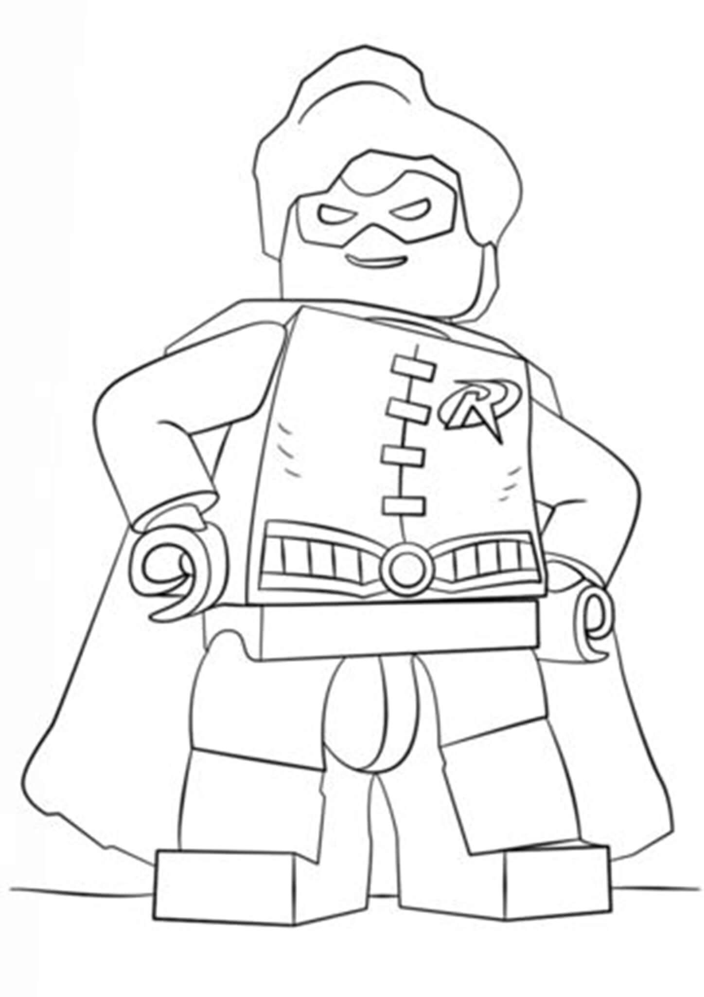Free Easy To Print Lego Coloring Pages Lego Coloring Pages Superhero Coloring Pages Batman Coloring Pages