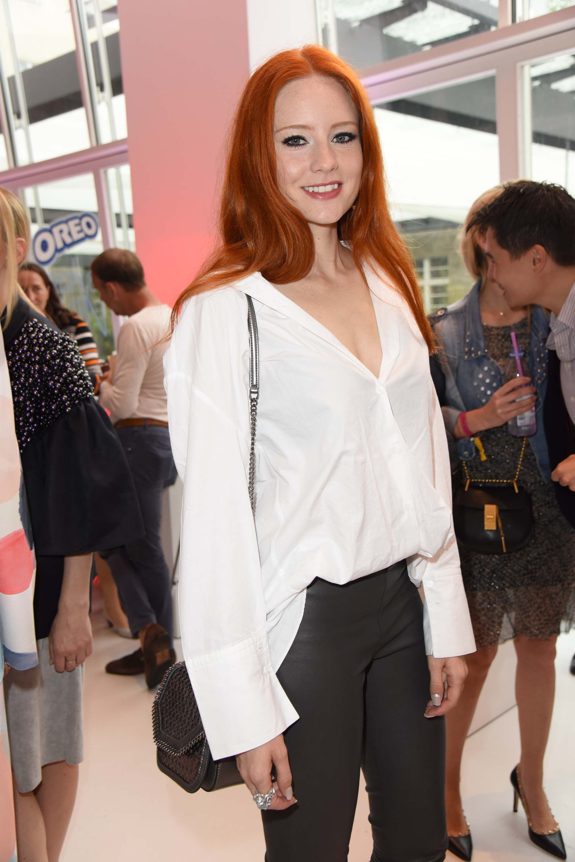 Barbara Meier attends Gala Fashion Brunch Mercedes-Benz Fashion Week