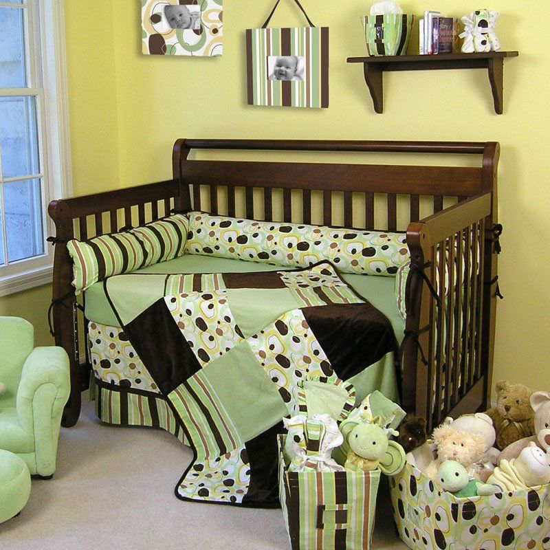 Nursery Bedding Sets The Trend Lab Giggles 4 Piece Crib Set Is Suitable For