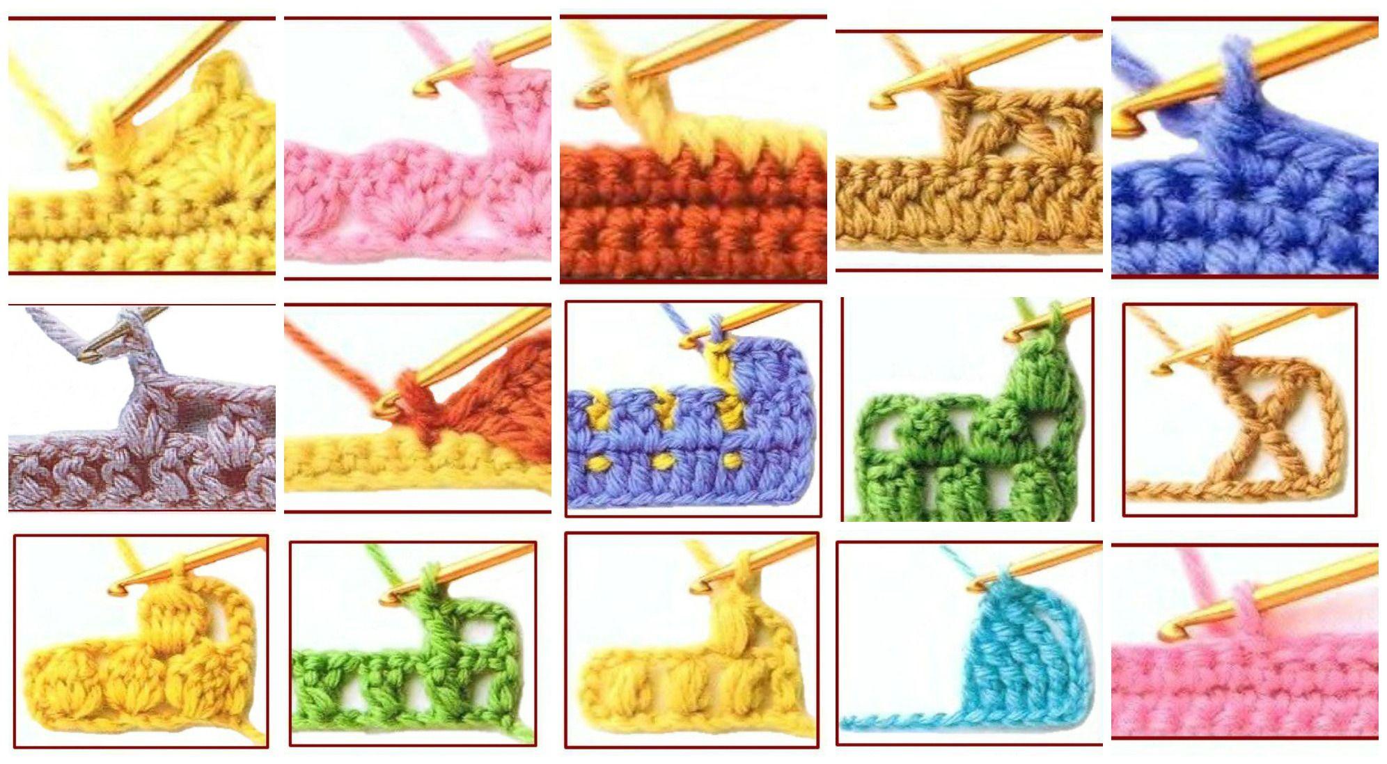 130 Crochet Stitch Symbols You Should Know Croche Especial