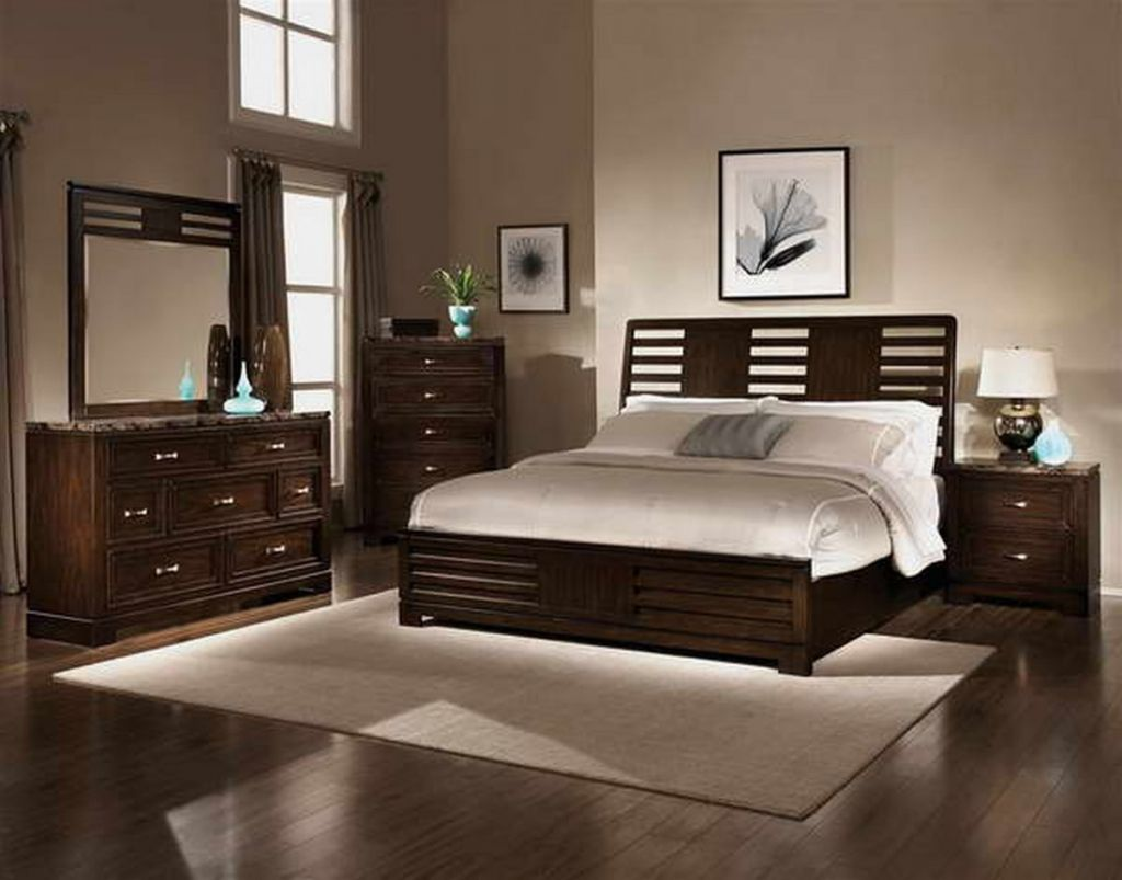 chocolate brown bedroom furniture - interior paint colors bedroom