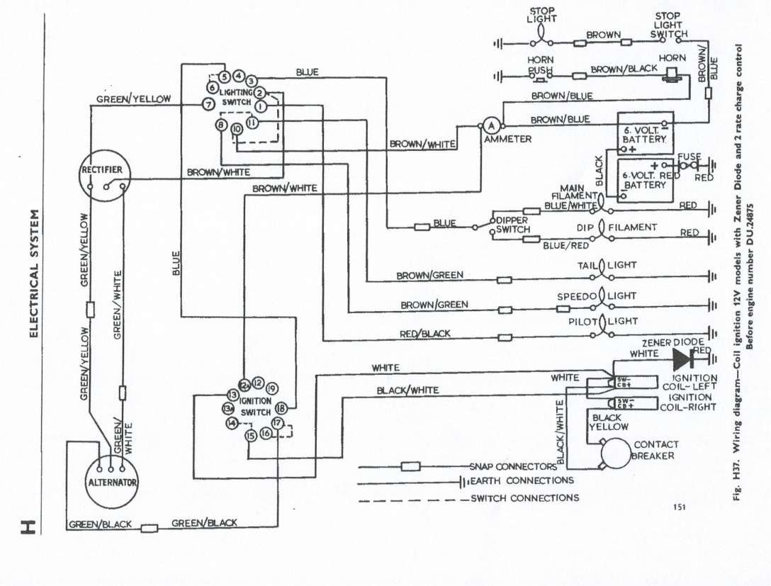 16  Triumph Motorcycle Wiring Diagram