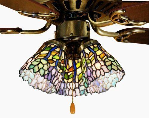 409 wisteria tiffany stained glass ceiling fan 52 inches width 409 wisteria tiffany stained glass ceiling fan 52 inches width tiffany street httpamazondpb000yj212wrefcmswrpidp3xzkub053aesc aloadofball Gallery