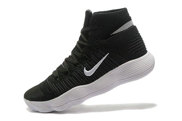 d0bca861ff3d ... greece official nike hyperdunk 2017 elite flyknit black white classic  color mens basketball shoes 2018 sale