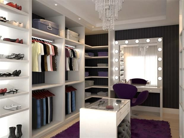 Projetos De Closets Pequenos Com Medidas Dressing Room Clothes