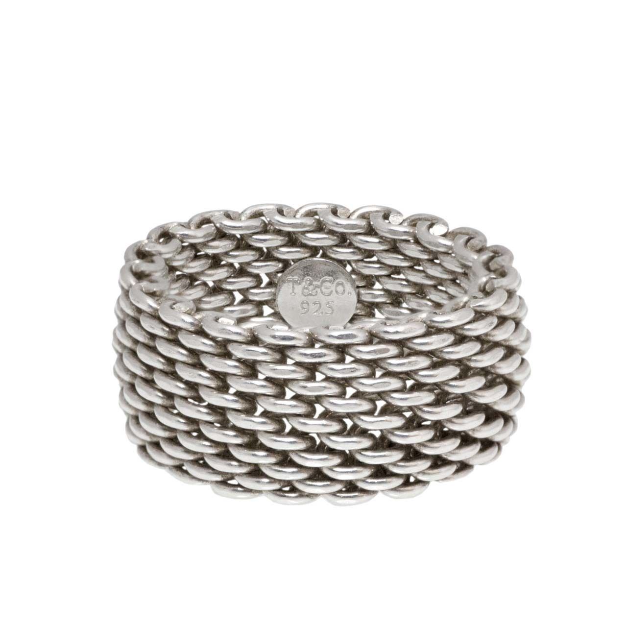 23927c3f0 Tiffany & Co. Sterling Silver Somerset Ring   TIFFANY SILVER JEWELRY ...