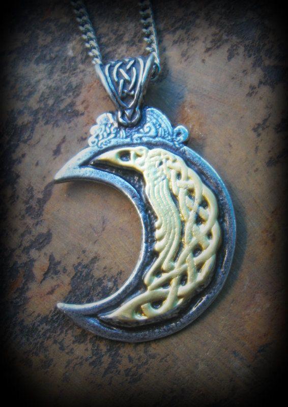 VALKYRIE Wish Maiden Spirit Bound Pewter Pendant Viking Norse Celtic Djinn Like