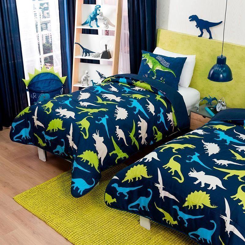 Comforter Light Dinos En 2019 Cuarto Ni 241 Os Pinterest