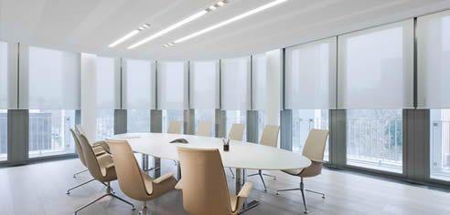 Sheer Roller Blind   Office