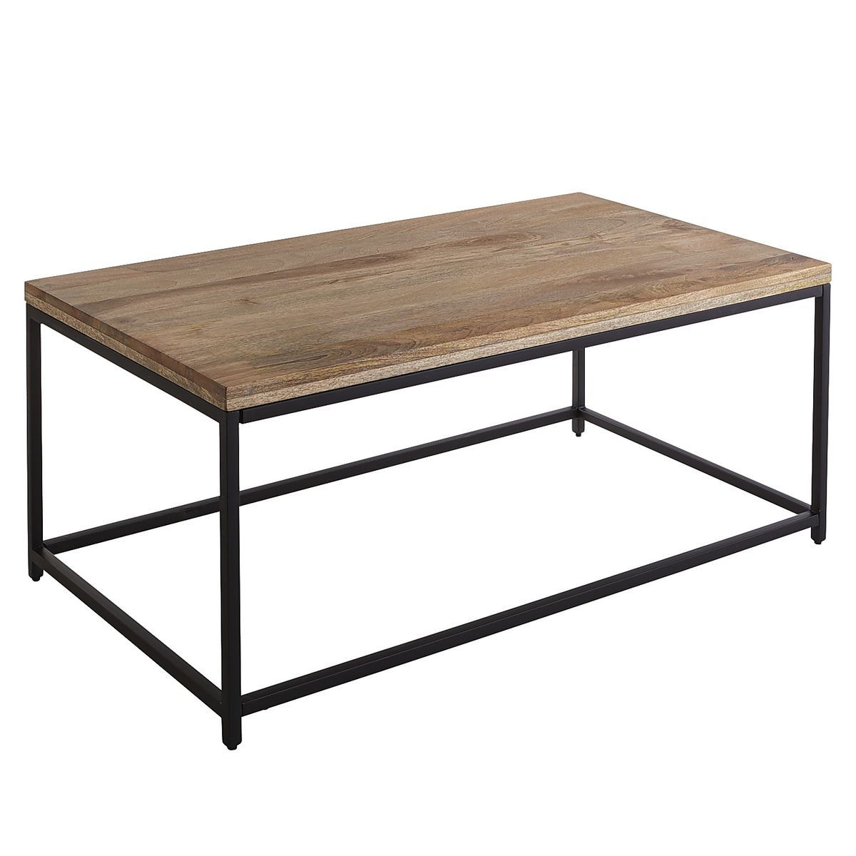 Takat Natural Mango Wood Coffee Table Coffee Table Wood Mango