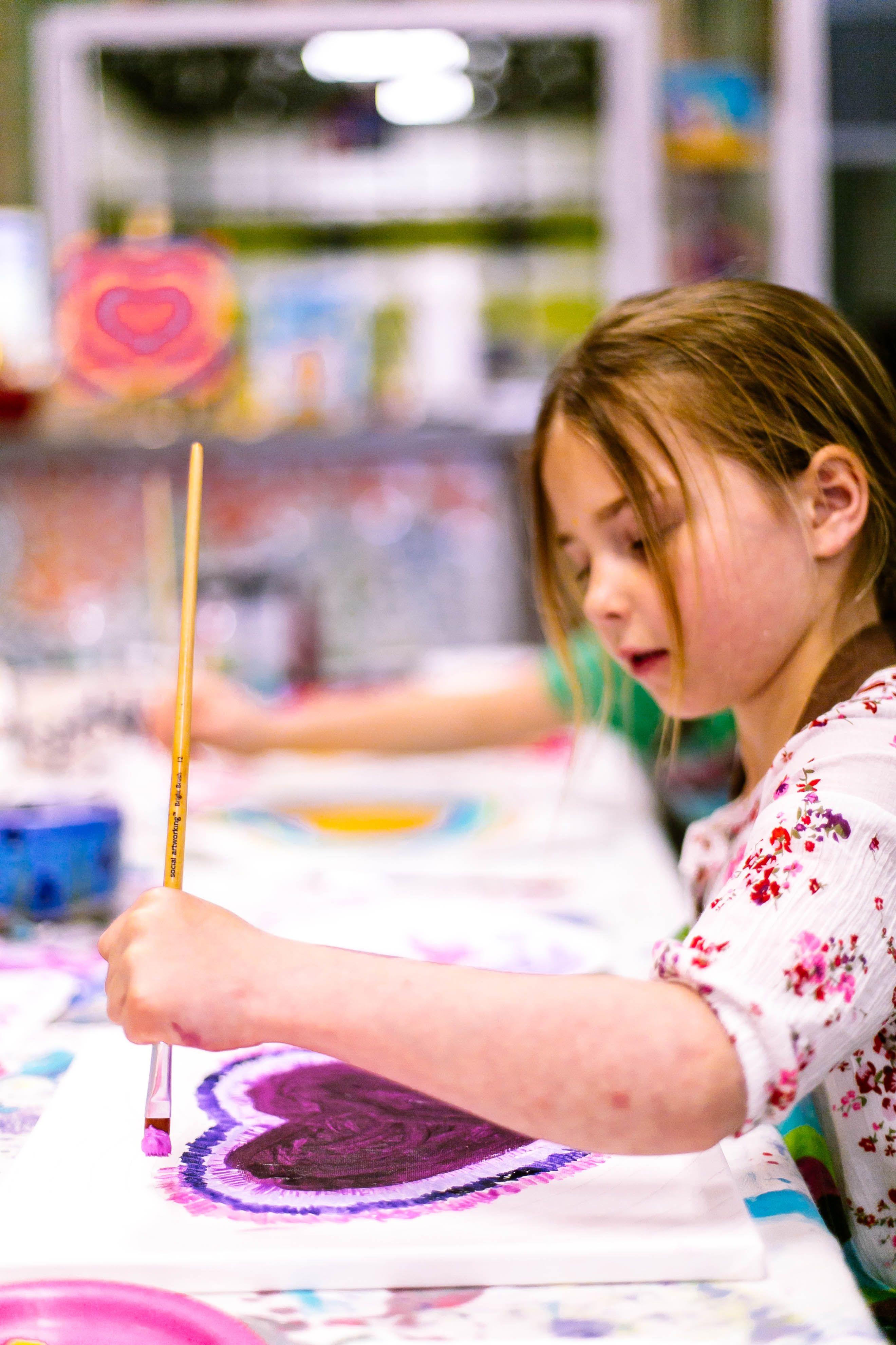 Glazed Over Studios Ocean City Nj Pottery Mosaics Canvas More Childrens Art Studio Childrens Art Ocean City