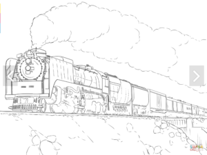 Train Coloring Pages In 2020 Train Coloring Pages Cars Coloring Pages Coloring Pages
