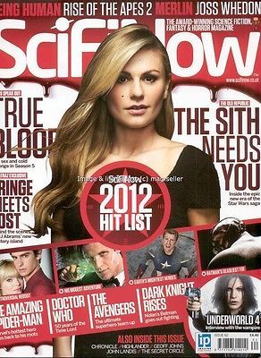 #Scifi now issue 62 true blood joss whedon star wars #fringe #spider-man doctor w,  View more on the LINK: 	http://www.zeppy.io/product/gb/2/381820329593/