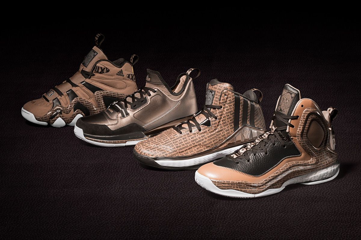 "innovative design 6a0ee 8362d adidas Basketball ""Black History Month"" Collection 2015 sneakers"
