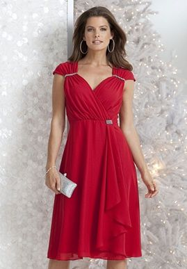 1000  images about Little Red Dress on Pinterest - Plus size ...