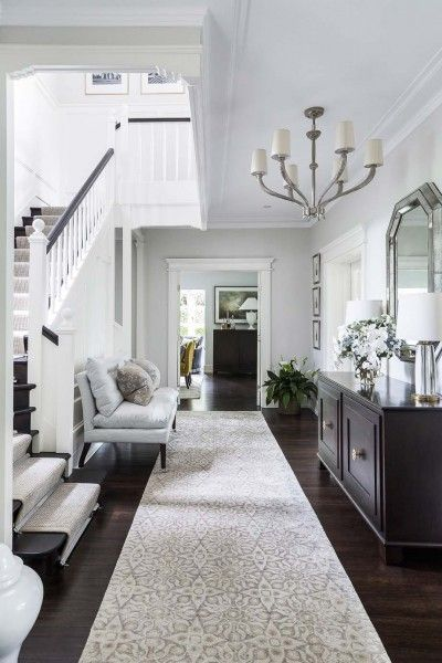 Entrée d\u0027appartement \u2013 hall \u2013 design hall chic \u2013 Entrée maison - photo hall d entree maison