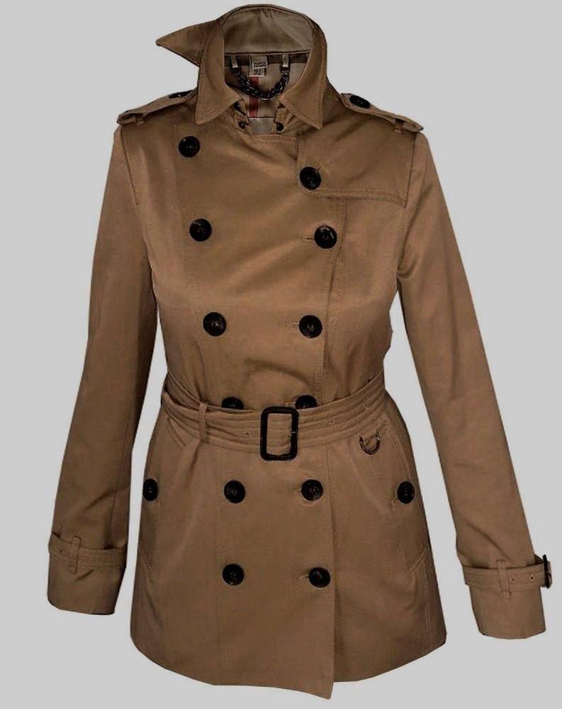 Burberry Women S Trench Coat Jacket Size Xl Extra Large Uk 12 U S10 It 44 Fashion Clothing Shoes Accessories Wom Trench Coats Women Vest Jacket Jackets