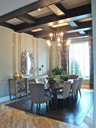 Issa homes golden oak model home lot 41 casa di lusso for Arredamento casa di lusso