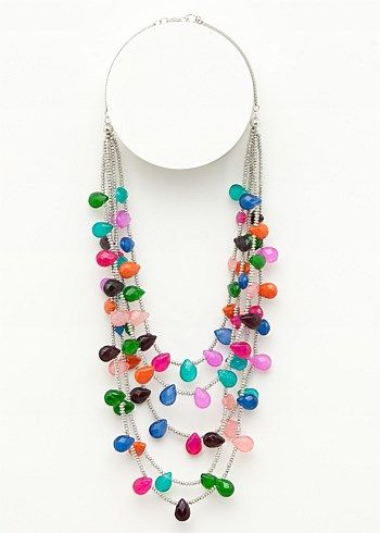 Plus Size Jewellery - Long Necklaces Online - GUMMIES NECKLACE - TS14