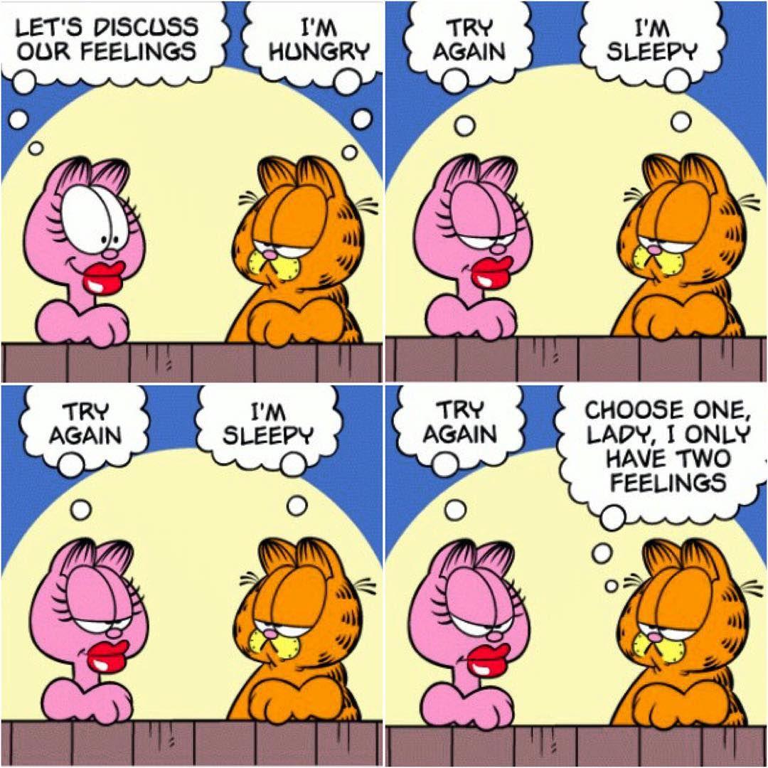 Garfield Comic On Instagram Hungry Or Sleepy Garfield Lovable Lazy Orange Kitty Cat Arlene Girlfriend P Garfield Comics Garfield And Odie Garfield