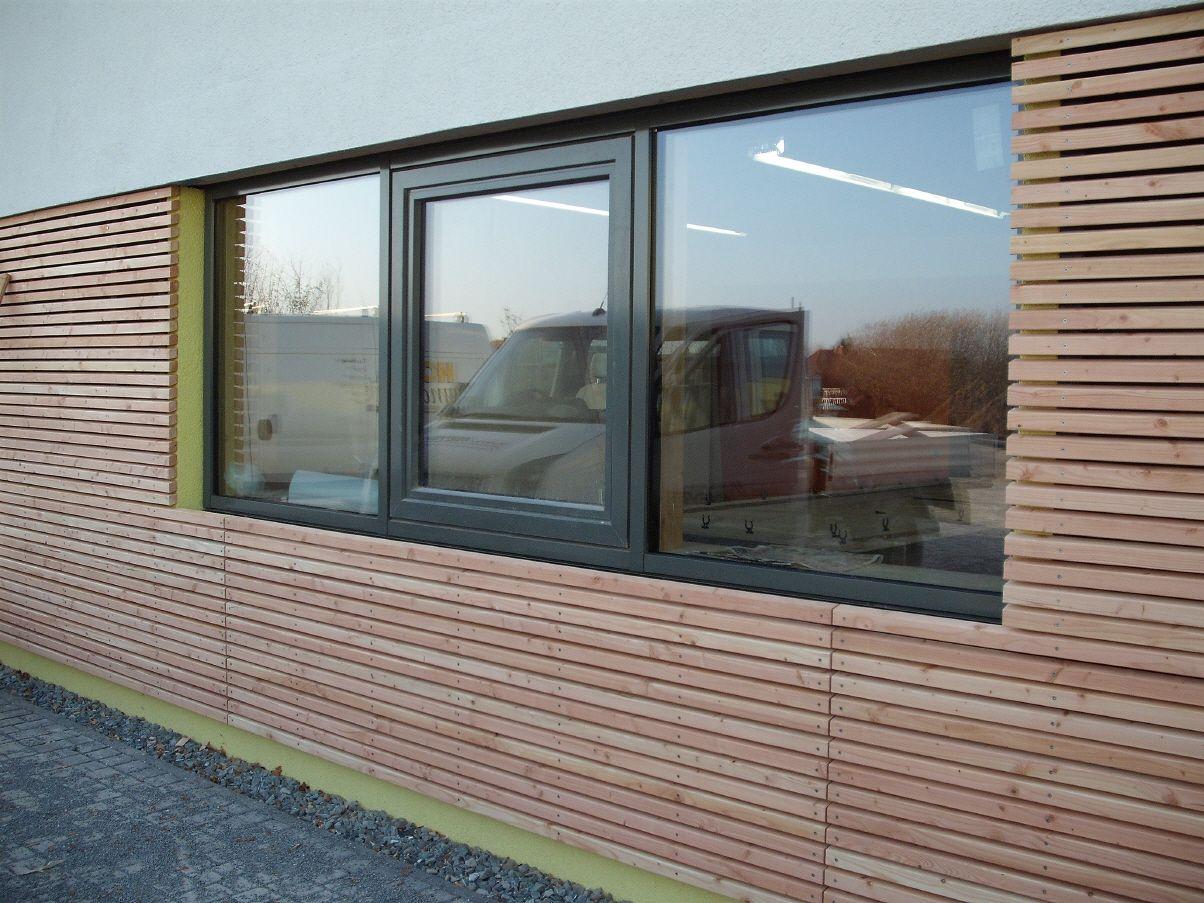 Moderne fenster fassade  holzfassade | Books Worth Reading | Pinterest | Holzfassade ...