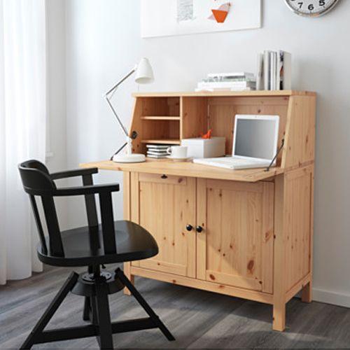 Brilliant Office Organization Ideas: Secretary Desks Instantly Turn Any Room Into A Home Office