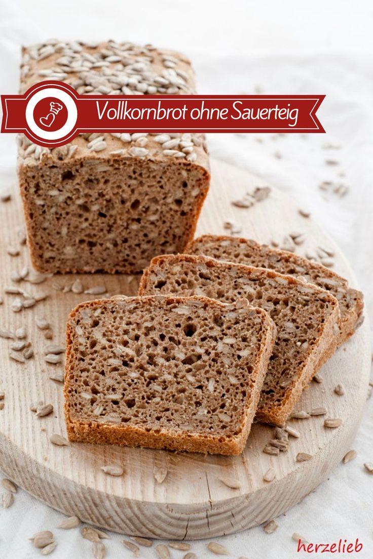 Photo of Anständiges Vollkornbrot – Brot Rezept ohne Sauerteig