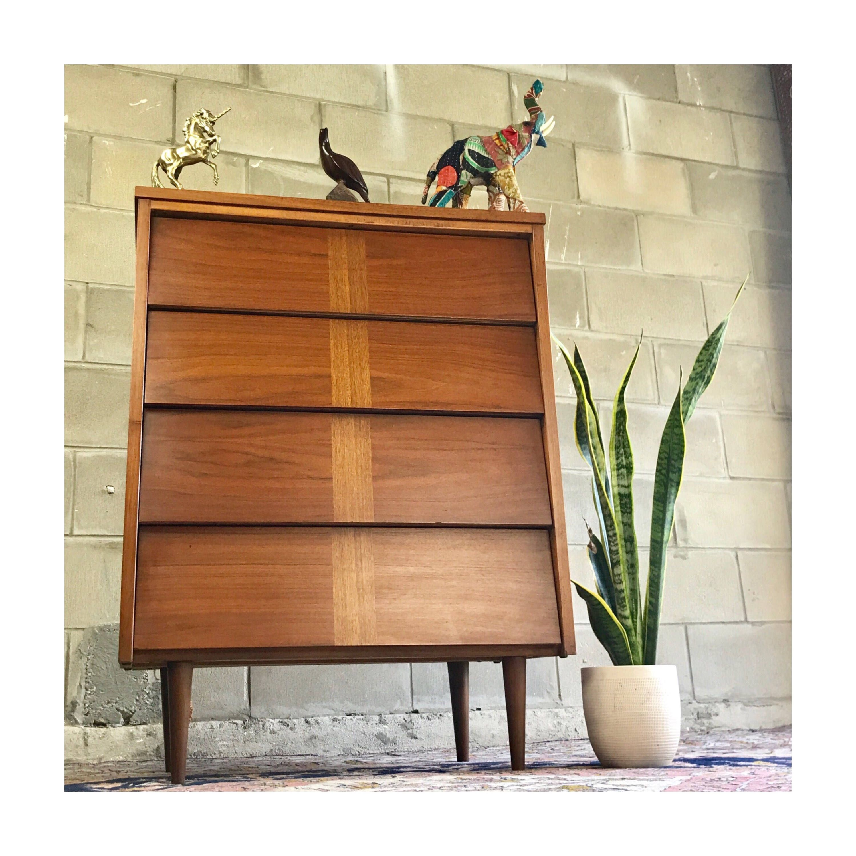Mid Century Bedroom, Mid Century Dresser, Retro Dresser, Double Dresser,