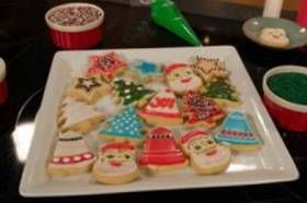 Cookie Decorating With Walkers Shortbread Festive Shapes Christmas