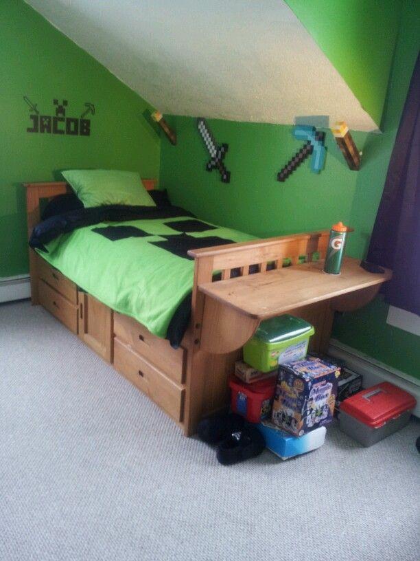 Minecraft Bedroom And Room