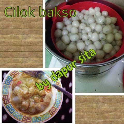 Cilok Bakso by dapur Sita ~ Kuliner Nusantara