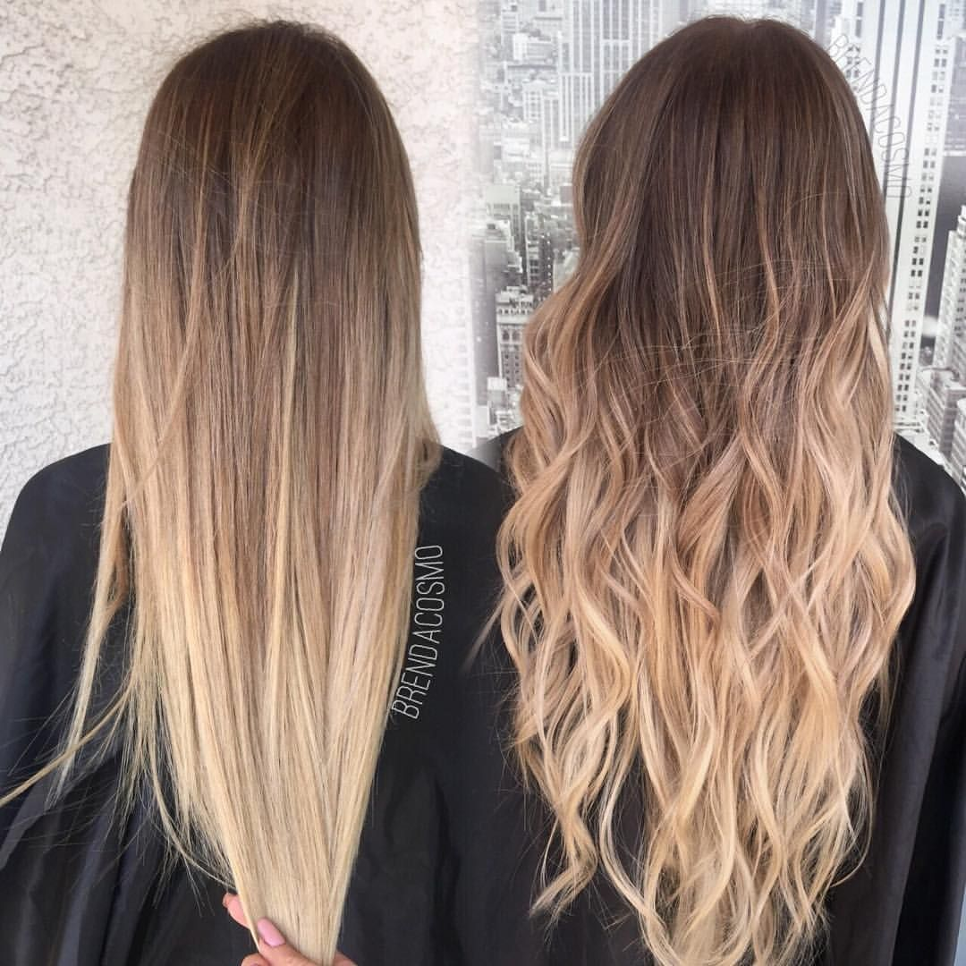 "Brendacosmo on Instagram: ""From grown out highlights to this beautiful balayage + 20 extensions .."