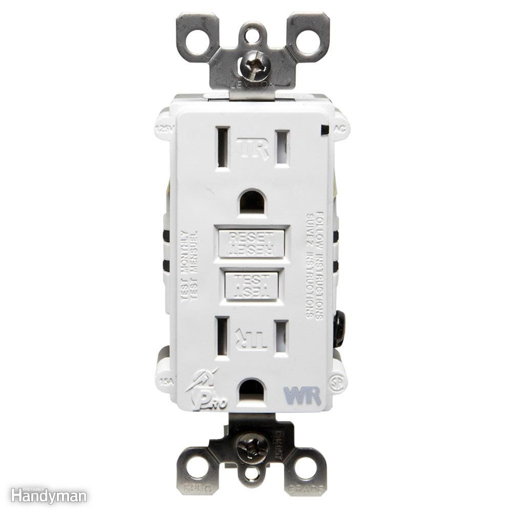 Wiring A Switch And Outlet The Safe Easy Way Wire Groundfault Circuit Interrupter Ground Fault