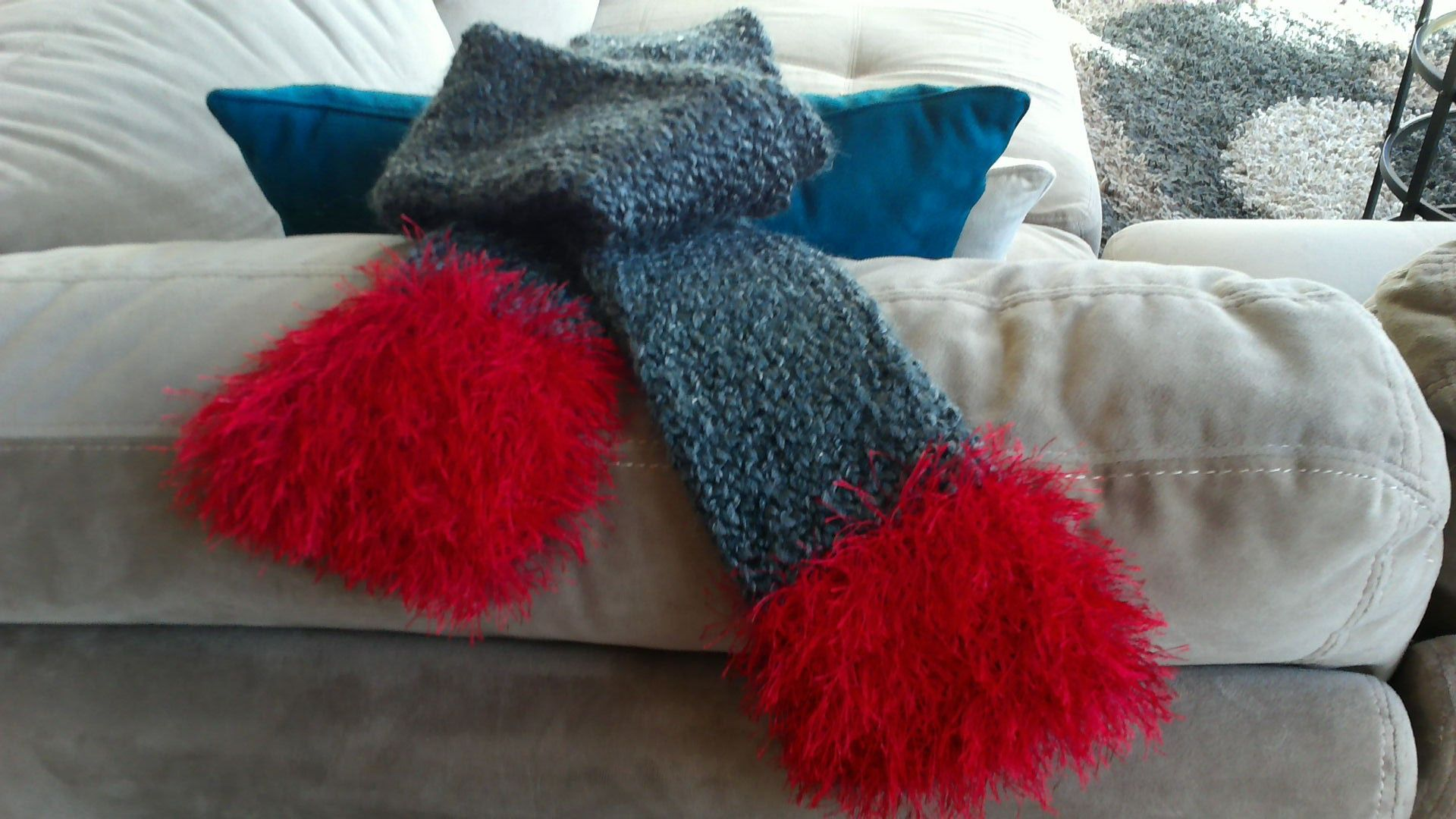 Scarf, Hand-Crafted Knit