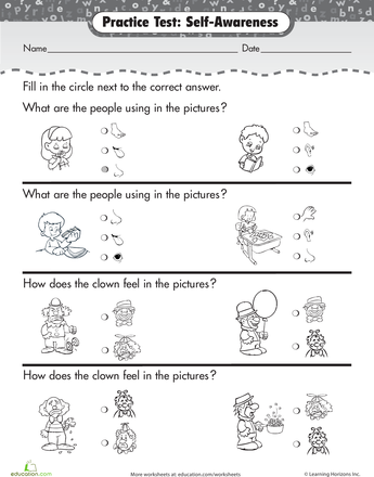 Senses and Feelings | Life skills lessons, Life skills and Worksheets