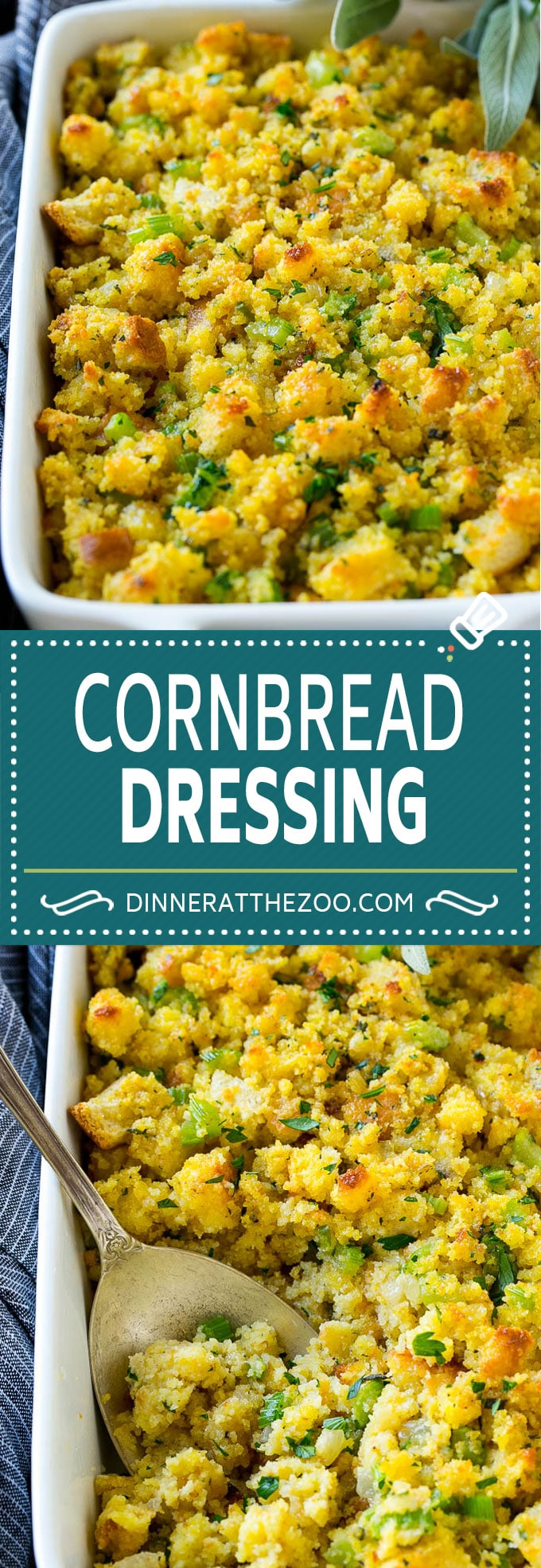 Southern Cornbread Dressing #cornbreaddressing