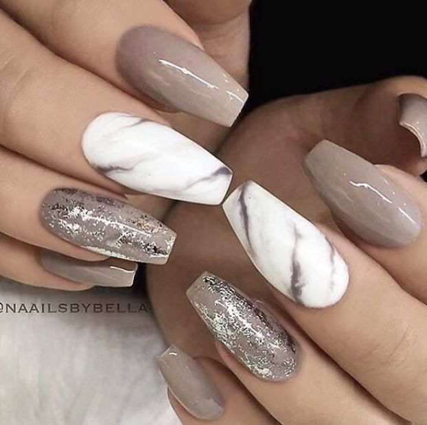 light brown marble nails nails nail designs best
