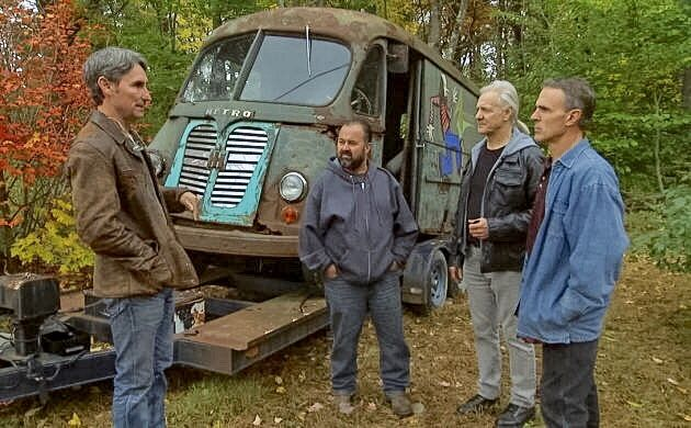 Barn Finds Story On American Pickers Aerosmith Van Find