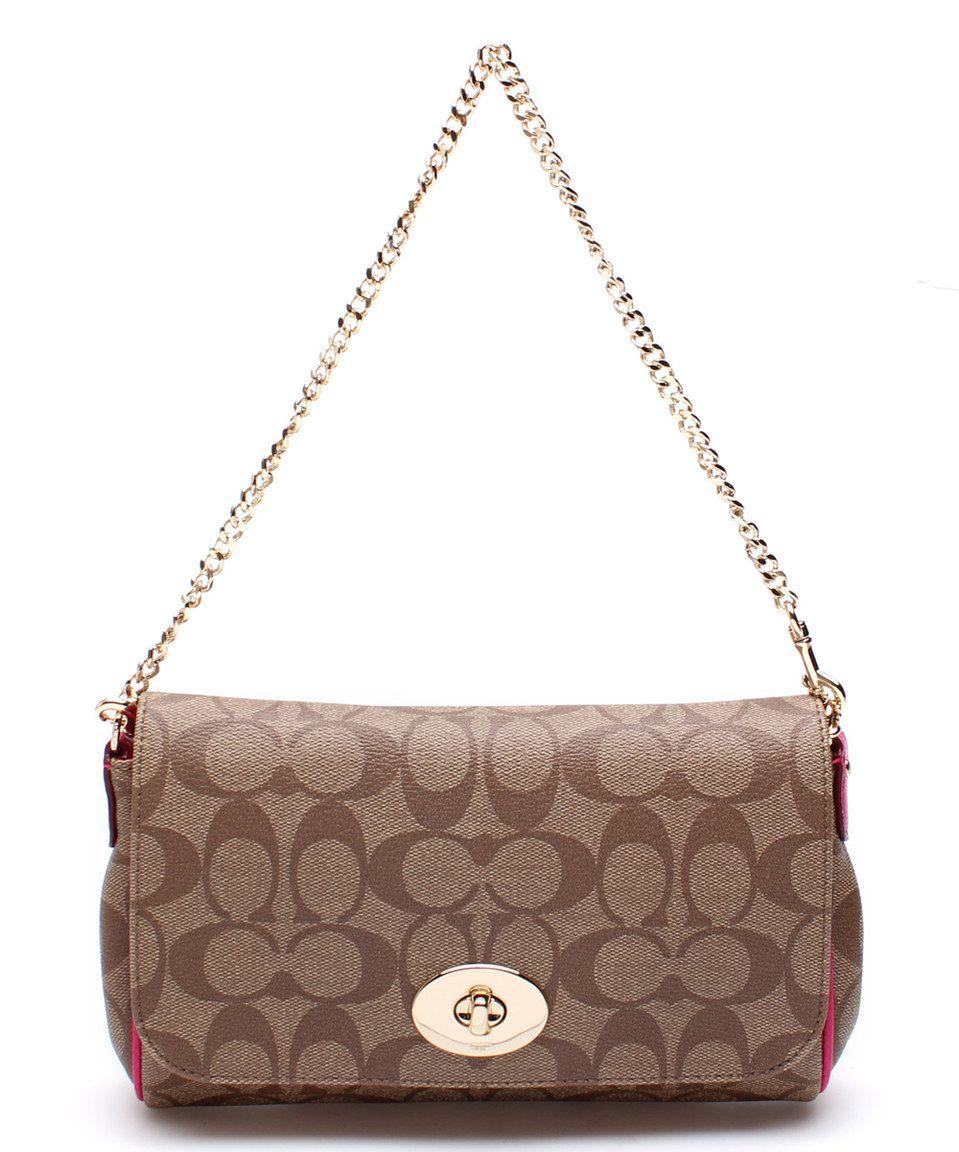 5d13c2b4ca16c AUTHENTIC COACH MINI RUBY CROSSBODY IN SIGNATURE BROWN CANVAS #Coach # CROSSBODY   Coach Handbags   Brown canvas, Coach handbags, Canvas