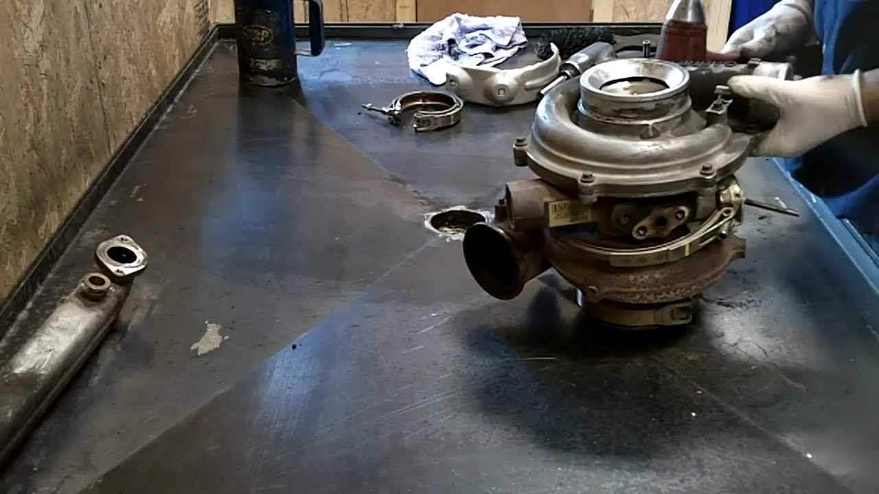 6 0 Liter Powerstroke Oil Cooler Intake Install Powerstroke Diesel Performance Ford Powerstroke