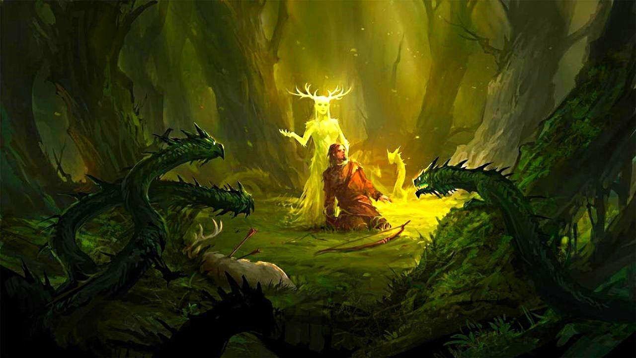Celtic Forest Music – The Force Of Nature | Adrian von Ziegler (1 hour) -  YouTube | Fantasy, Fantasy art, Forest spirit