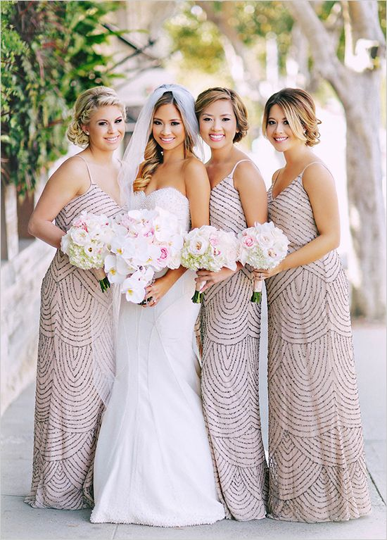 0b7d62b06cd glitzy bridesmaid dresses  weddingchicks