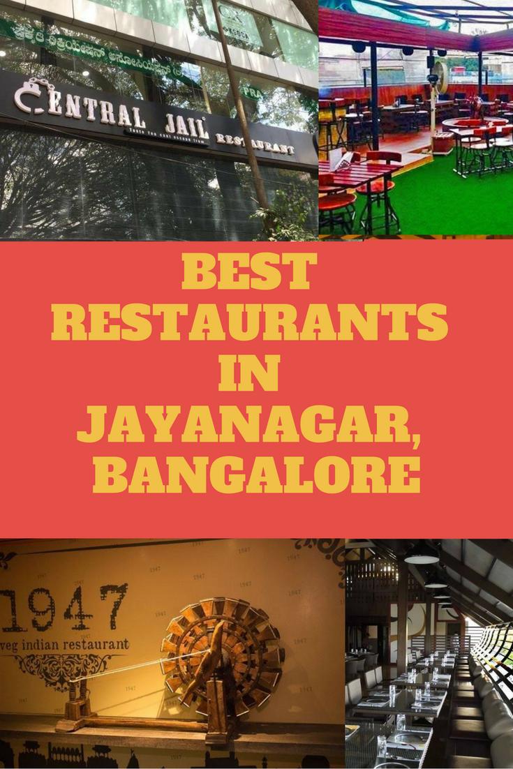 Top 10 Best Restaurants In Jayanagar Bangalore With Images Restaurant Rooftop Restaurant Best