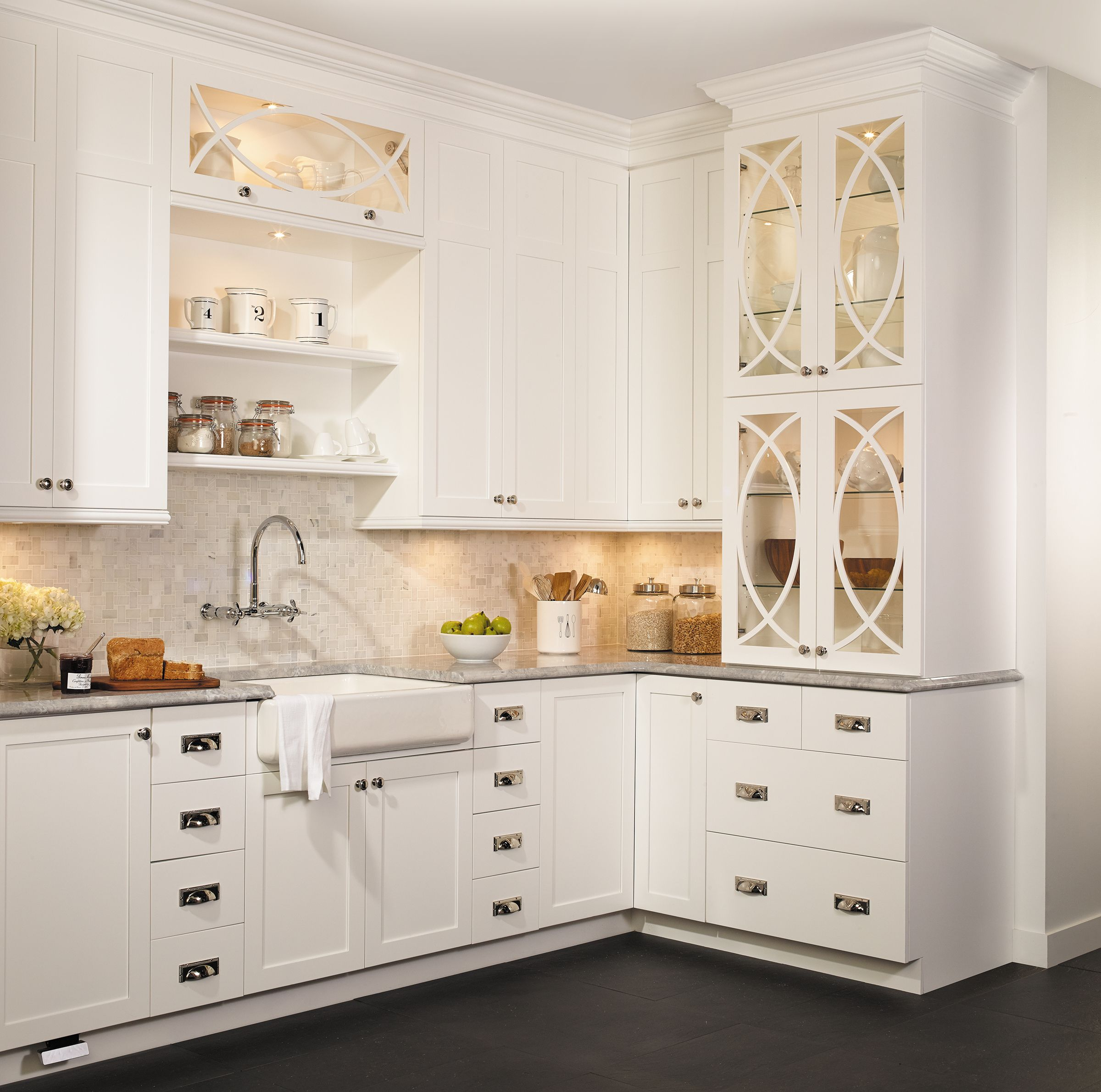 Cabico Boutique Retro Kitchen White Kitchen Design Kitchen Cabinet Remodel Country Kitchen Designs