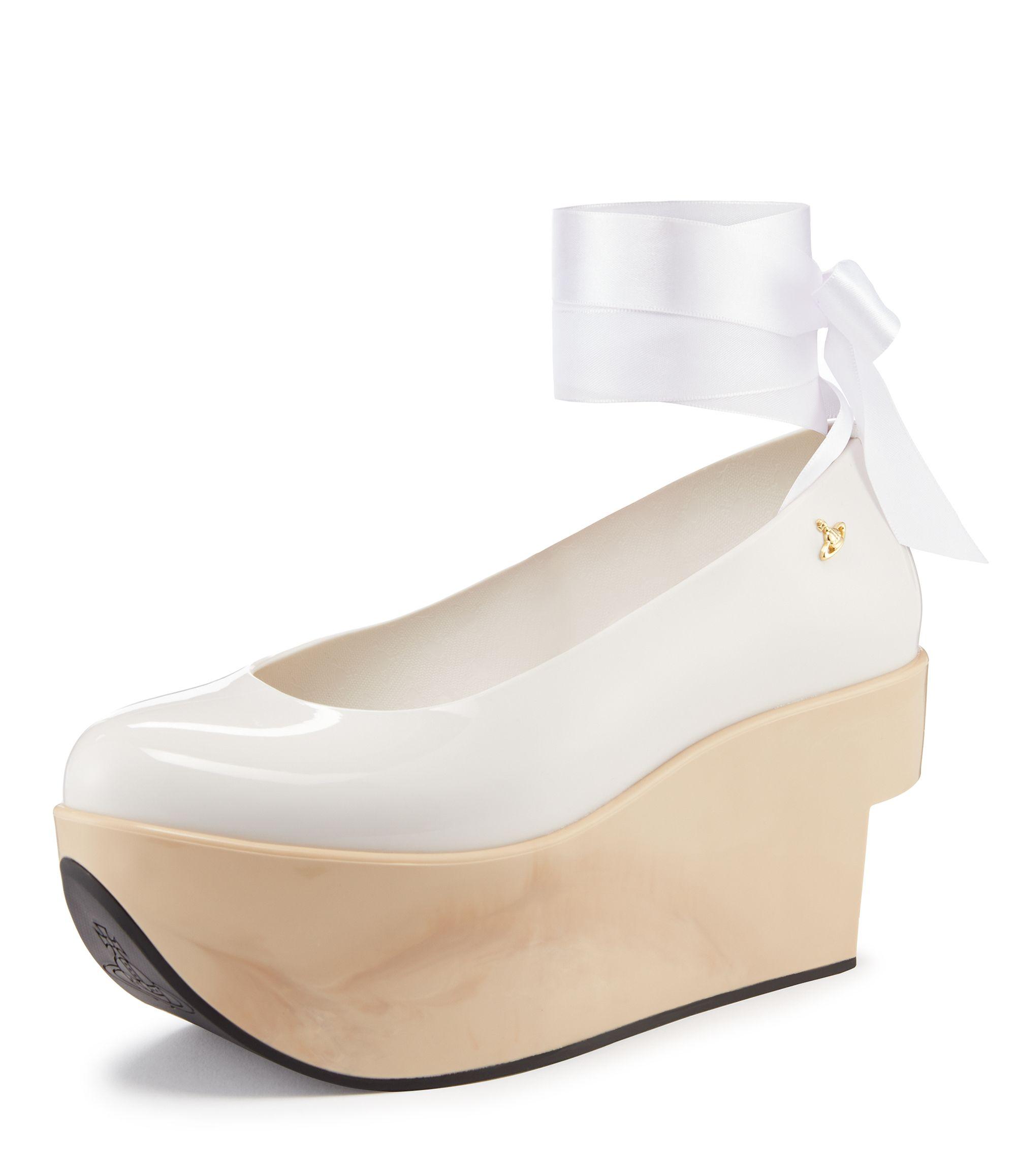 ac3decded179 VIVIENNE WESTWOOD White Rocking Horse Ballerina.  viviennewestwood  shoes