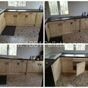 Muebles De Cocina Hechos Con Palets. Excellent Hermosa Muebles De ...