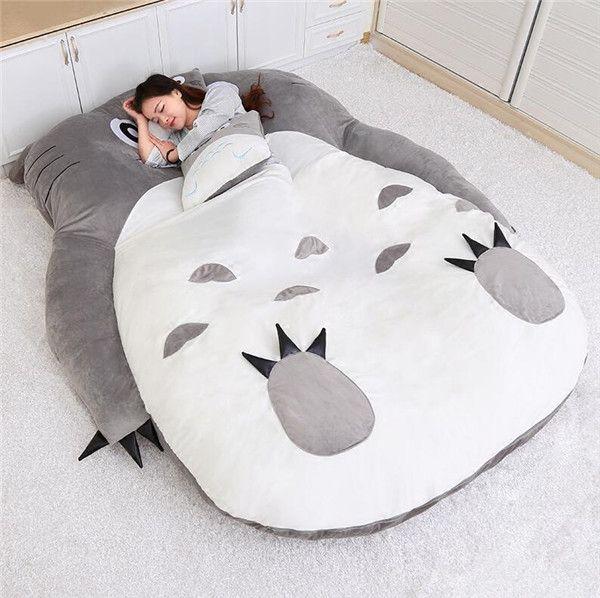 Kawaii Adorable Kid Futon Bed Anime Animal Furry Friend