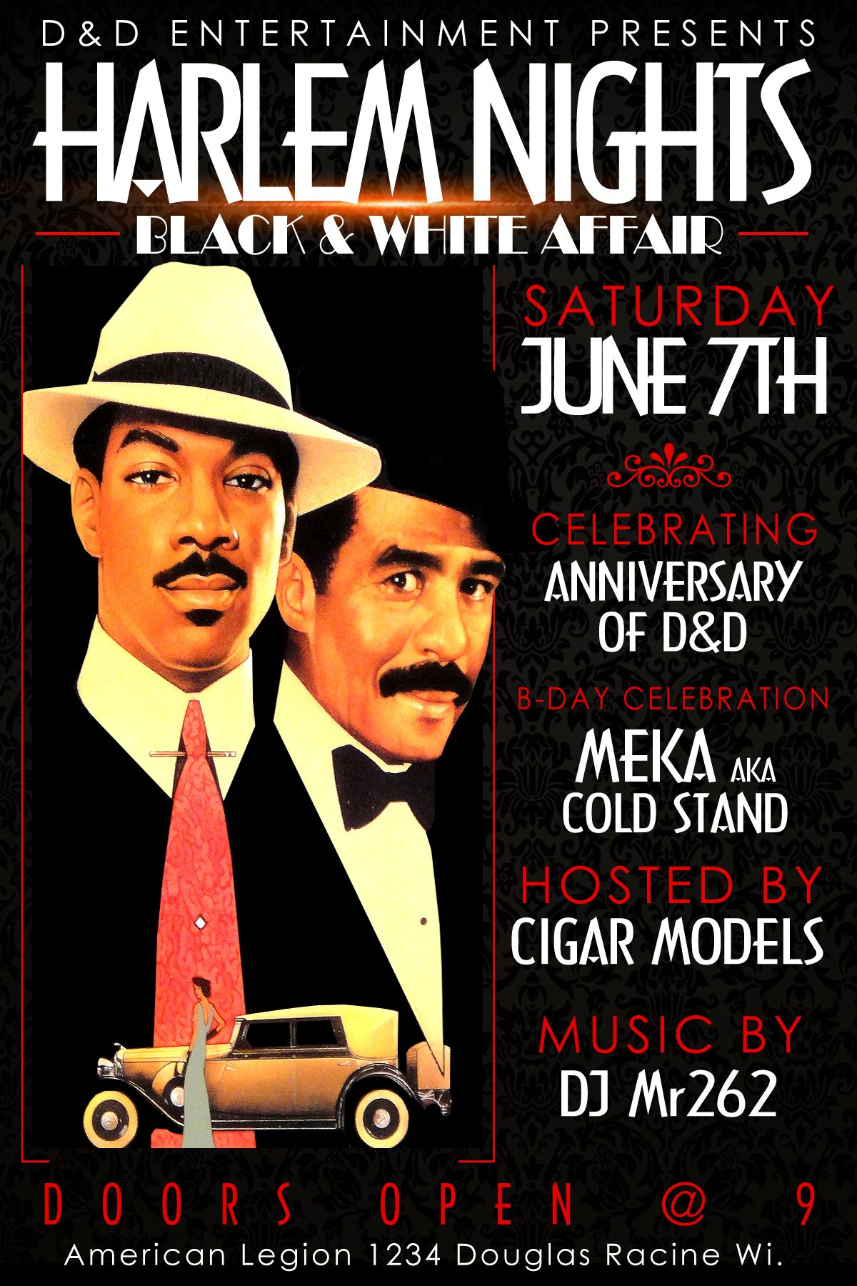 Harlem Night Flyer Darker Harlem Nights Flyer Igmm1 Our Flyers